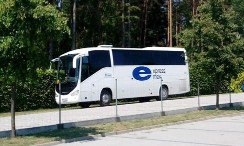 Wynajem autobusu Scania IRIZAIR