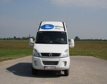 Wynajem autobusu Iveco Daily